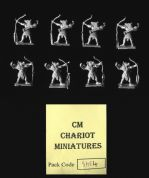 Chariot Miniatures 15mm Fantasy Egyptian SHE4 Jackal Headed Archers (x 8 figs)